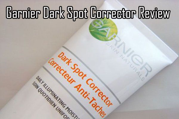 Garnier Dark Spot Corrector Review