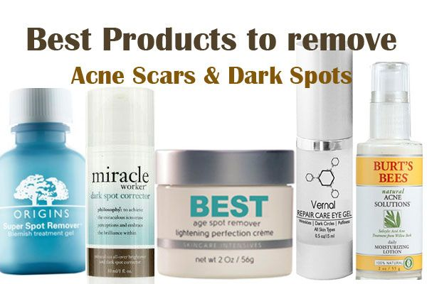 Best Products to remove Acne Scars & Dark Spots